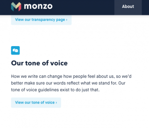 Monzo talk like a human