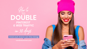 How to double your web traffic in 30 days with Pinterest
